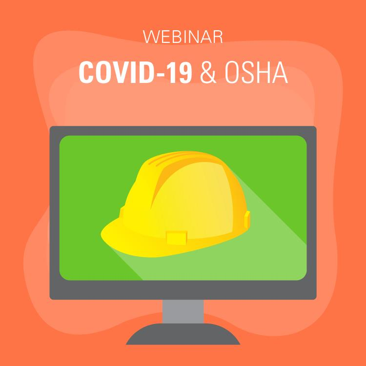 COVID-19 & OSHA webinar graphic