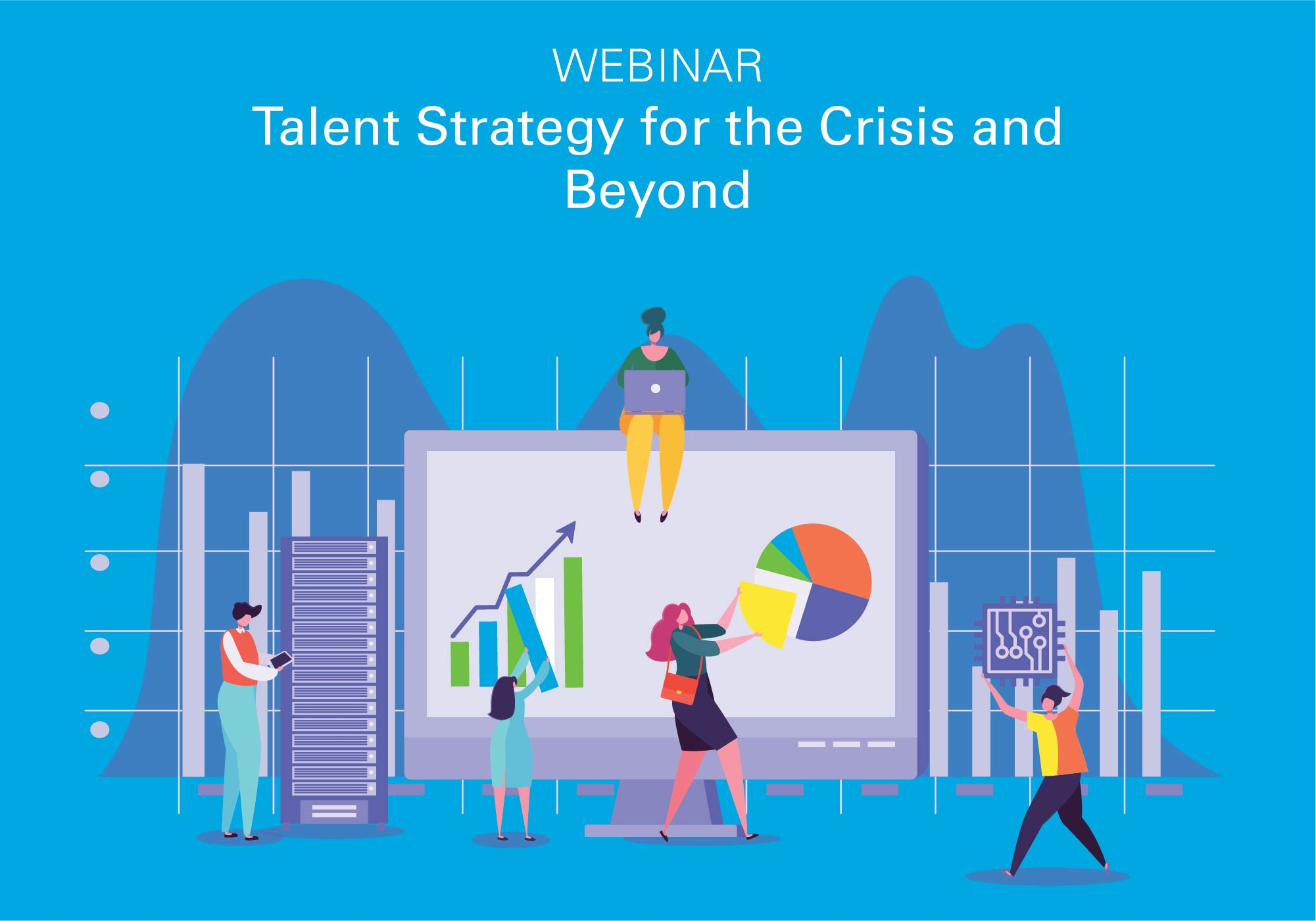 Talent strategy for the crisis and beyond webinar graphic
