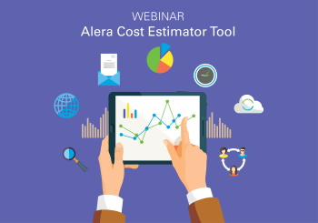 Alera cost estimator took graphic