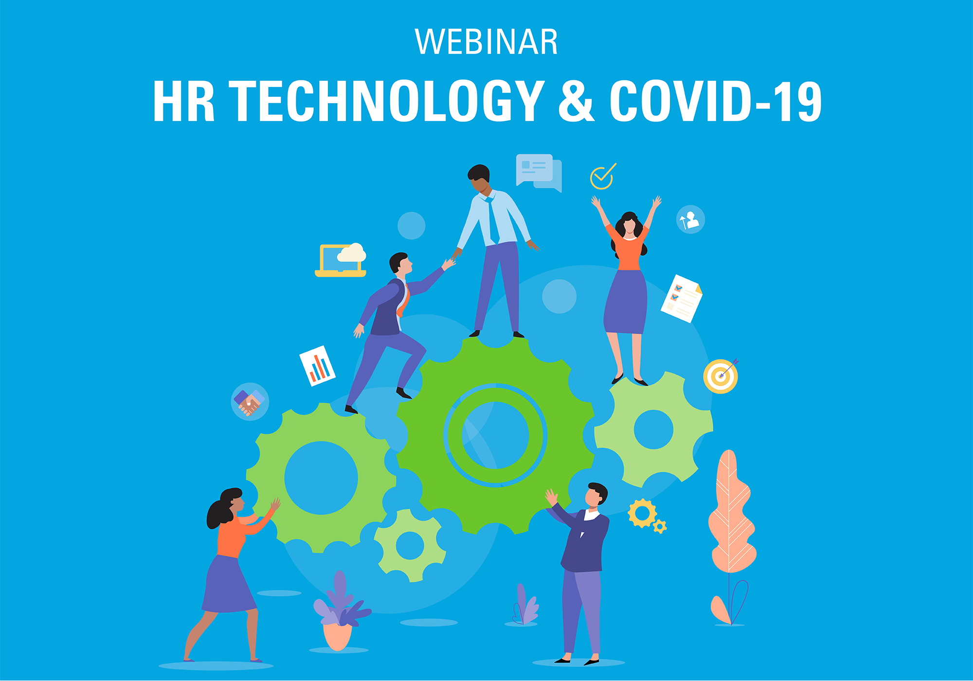 HR Technology & COVID-19 webinar graphic